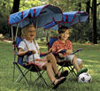 Kelsyus Beach Chair for Kids canopy conversion