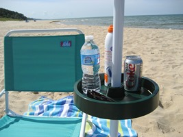 Upshelf Beach Umbrella Table