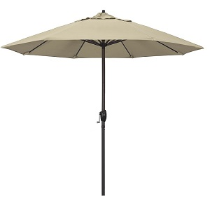 9 foot Pacifica aluminum patio umbrella w/ auto tilt