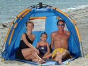 InsTent family Beach Cabana. Drop ship 3-5 business days.