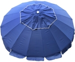 8 foot beach umbrella with Quik Twist