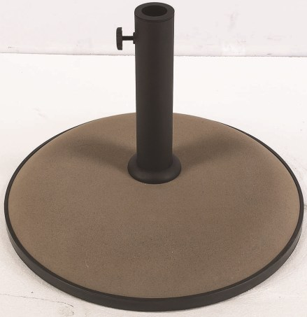 55 pound concrete market umbrella base