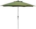 11' Commercial grade aluminum market patio umbrellas with antique bronze frame