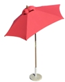 6 1/2'  Wooden Market Umbrella
