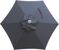 Order a single replacement canopy for 6.5' Market Umbrellas with USPS Flat Rate shipping