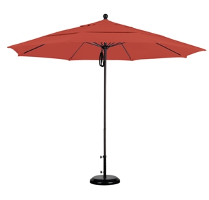 11 foot Pacifica wood patio umbrella