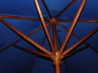 Replacement frames for 9' Wooden Patio Umbrellas