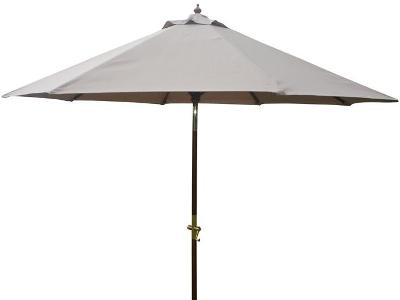 9' wooden Market/patio umbrellas with crank lift
