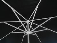 11u0027 Commercial Grade Aluminum Patio Umbrellas With White Frames